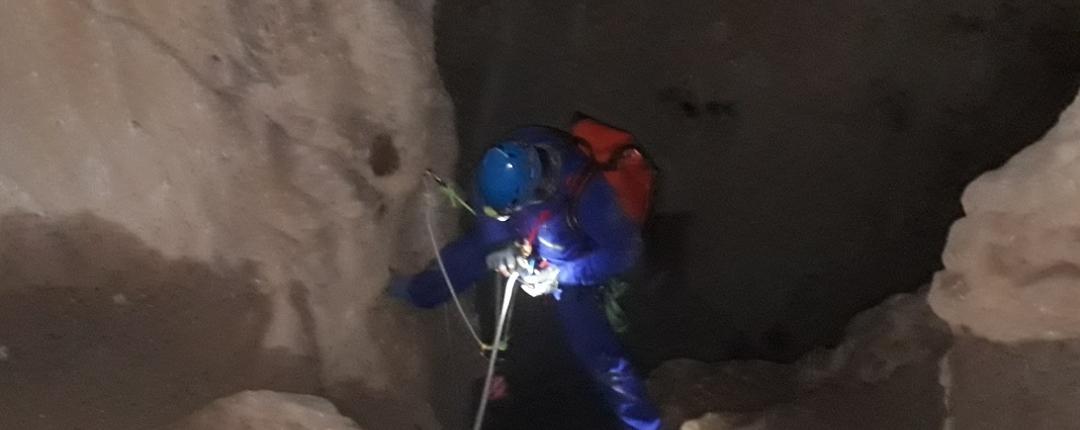 پیمایش غار سرو
