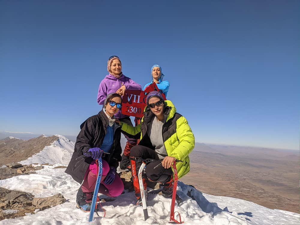 قله ویلو خمین